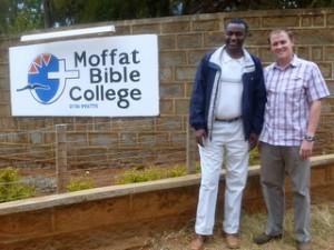 Paul, Principal at Moffat, and Andy in 2011