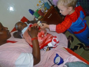 Christmas gifts for the kids in the hospital 2011