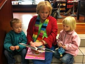 Reading with Nana in Boston