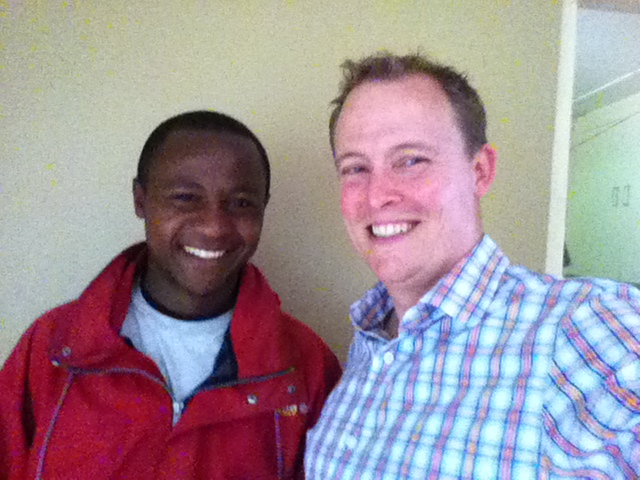 I was paid a surprise visit today by one of my students from 2011, Francis.  We talked and laughed, and I was deeply encouraged by his growing depth of character and ministry effectiveness in his local church.  What a delight it was to talk with him today and hear how he is responding to God's call.