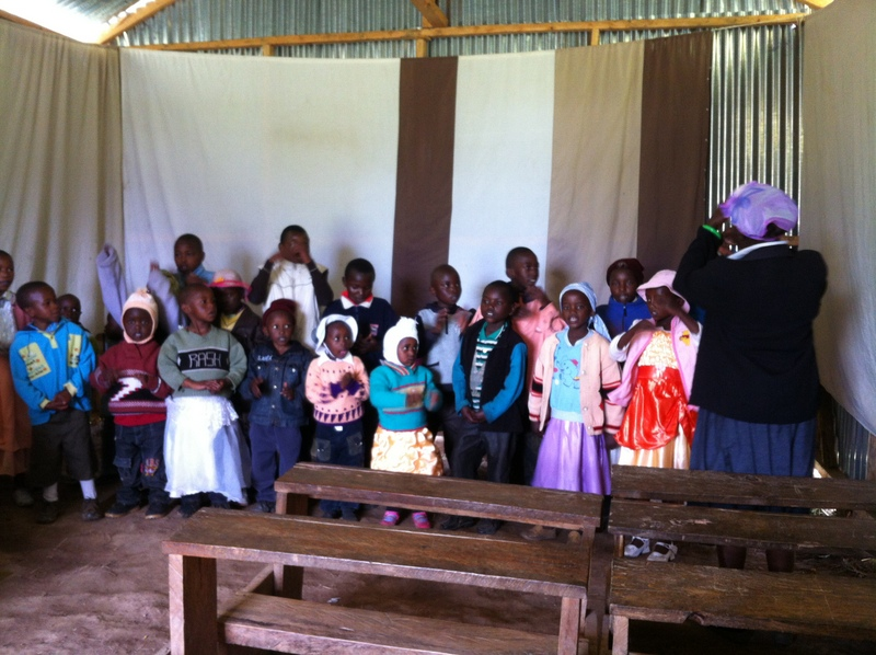 Kids church singing