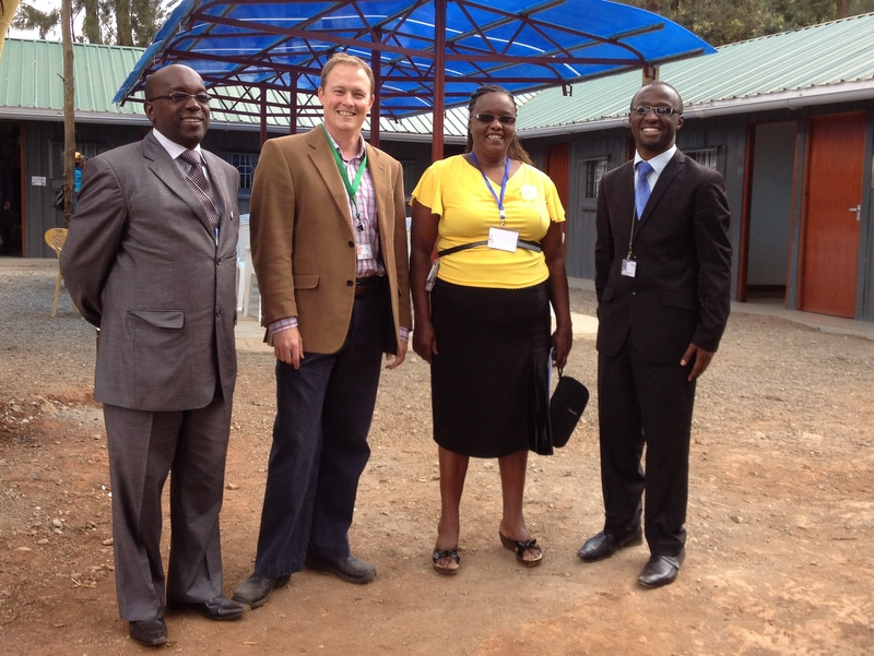 Some of the team of hardworking chaplains at Kijabe Hospital