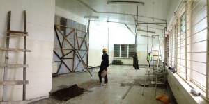 Renovations commencing on our emergency department through the generosity of donors through AIM