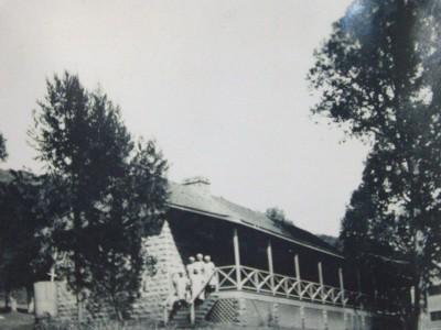 """Theodora"" Hospital, 1920's, on the grounds on the Rift Valley Academy, before it moved down the hill to the present location."