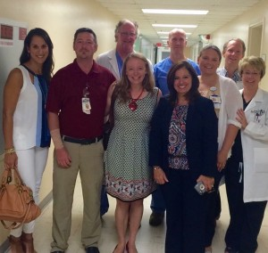 Mentors and friends for fifteen years:  the Pediatric Emergency Medicine team in Jacksonville, where Mardi trained