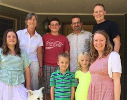 The Taubitz family,  engineers in Kijabe for 4 years, now in Michigan