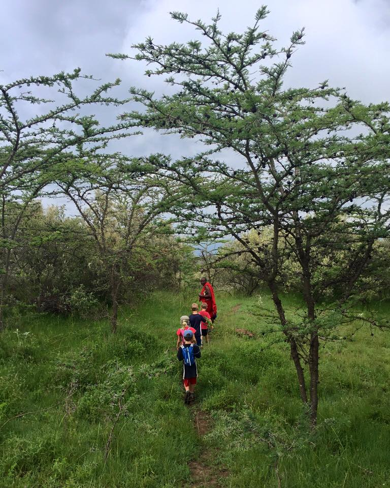 We took the kids about halfway up to the summit before we had to turn back and return to Kijabe.