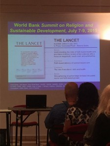 Learning what the world literature says about Faith-based healthcare and the impact we are having on global health