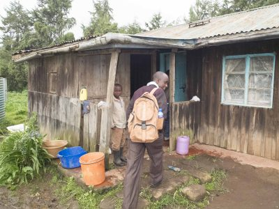 Community Health Worker on a home visit