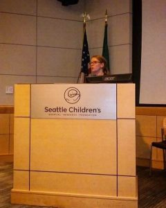 Presenting to the pediatric emergency team at Seattle Children's Hospital.