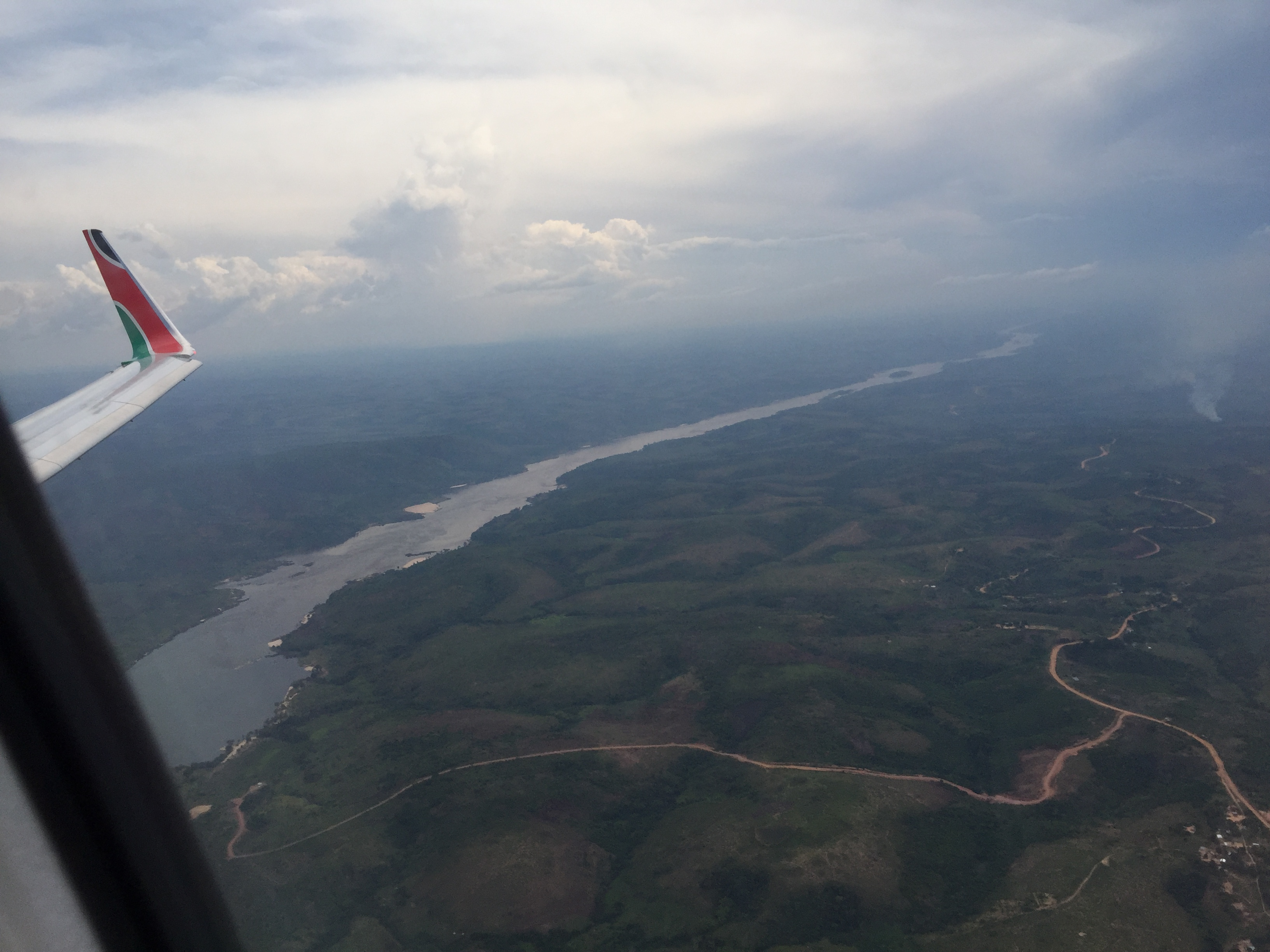 Getting to Brazzaville, capital of the Republic of Congo, is surprisingly easy from Nairobi: a five hour flight directly west, stopping in Kinshasa (capital of the the larger Democratic Republic of Congo, former Zaire) on the way.