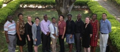 Pediatric Emergency & Critical Care Kenya team