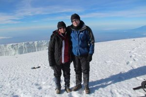 Kilimanjaro summit, 2014