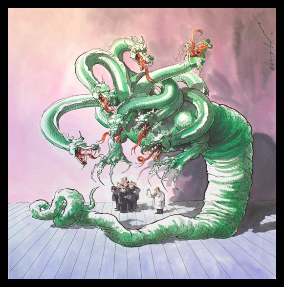 The many-headed Hydra (1/10/12)